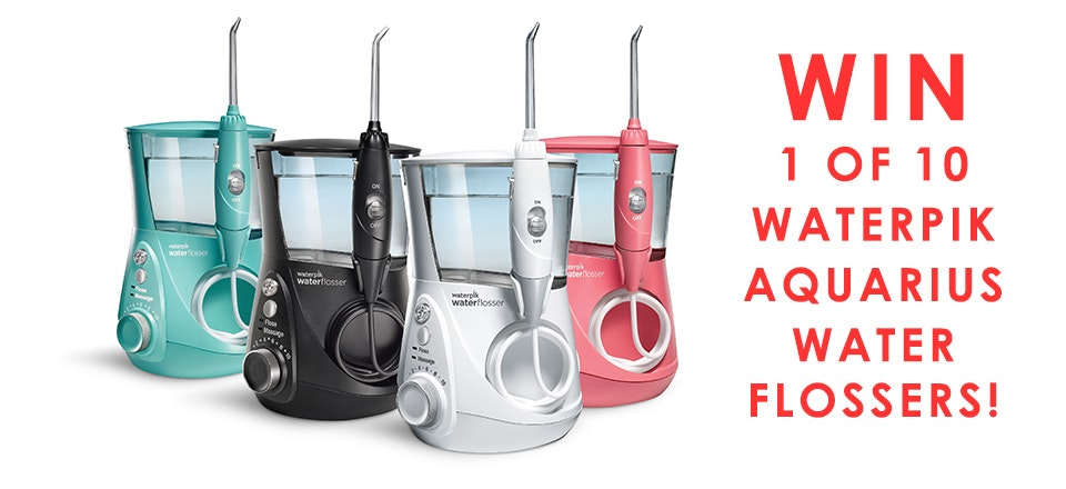 win a waterpik water flosser in touch weekly. Black Bedroom Furniture Sets. Home Design Ideas