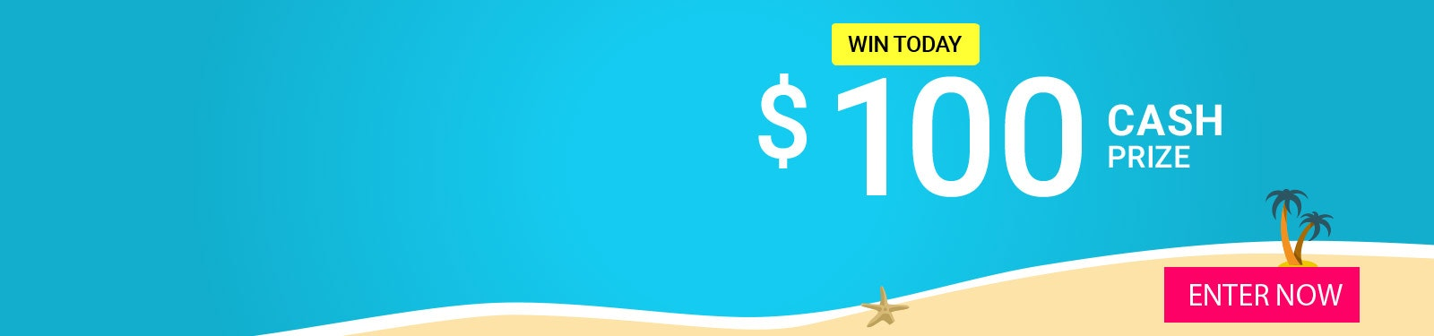 Prize of the Day 8-31 - $100 Cash sweepstakes