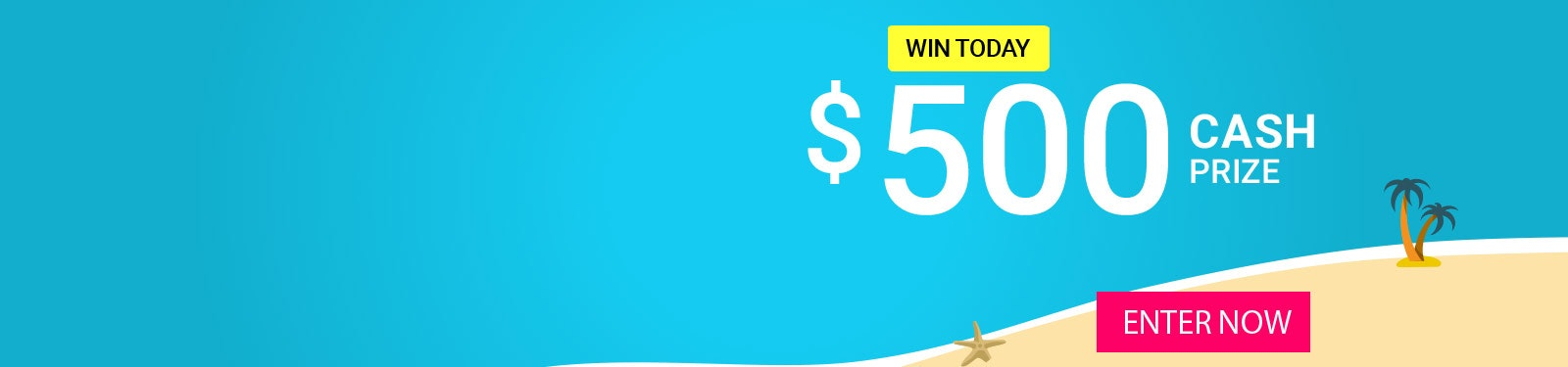 Prize of the Day 9-3 - $500 Cash sweepstakes