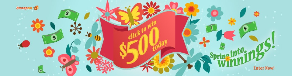 Prize of the Day 5-23 - $500 Cash sweepstakes