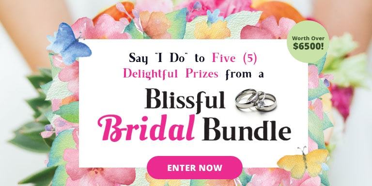 Blissful Bridal Bundle Prize Package sweepstakes