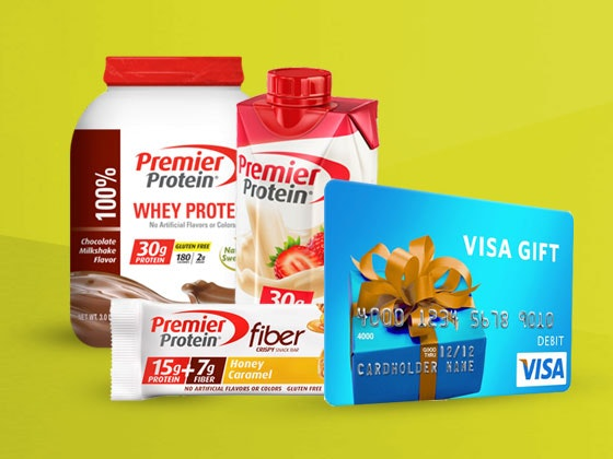 Premier Protein Prize Package sweepstakes