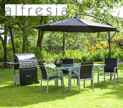 Win a set of Alfresia outdoor furniture & barbecue sweepstakes
