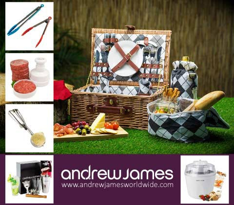 Win 5 x sets of Andrew James gadgets & accessories sweepstakes