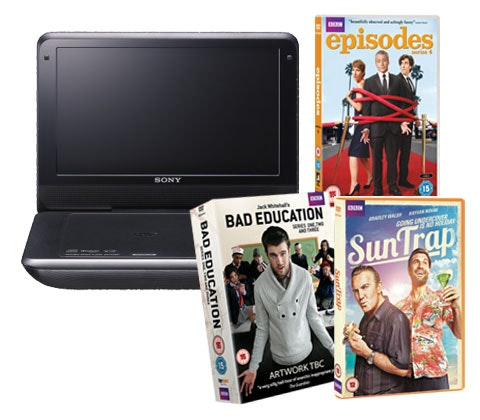 Win 3 x Sony portable DVD players & BBC comedy DVDs sweepstakes