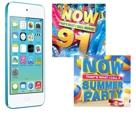 Win an Apple iPod touch, NOW 91 & NOW Summer CDs  sweepstakes
