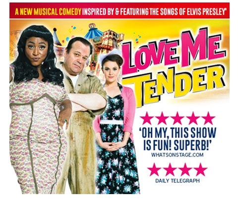 Win a pair of tickets to see Love Me Tender sweepstakes