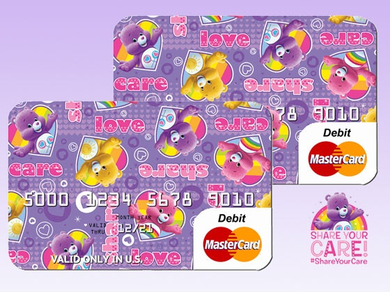 $100 Care Bears Mastercard sweepstakes