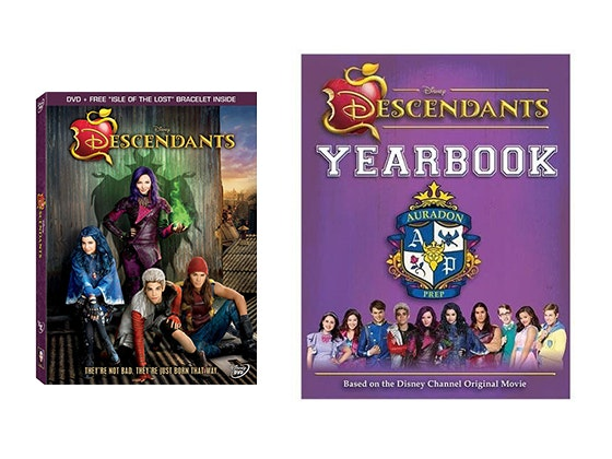 Descendants Yearbook and DVD sweepstakes