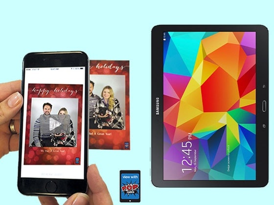 Samsung Tablet with Popcards sweepstakes