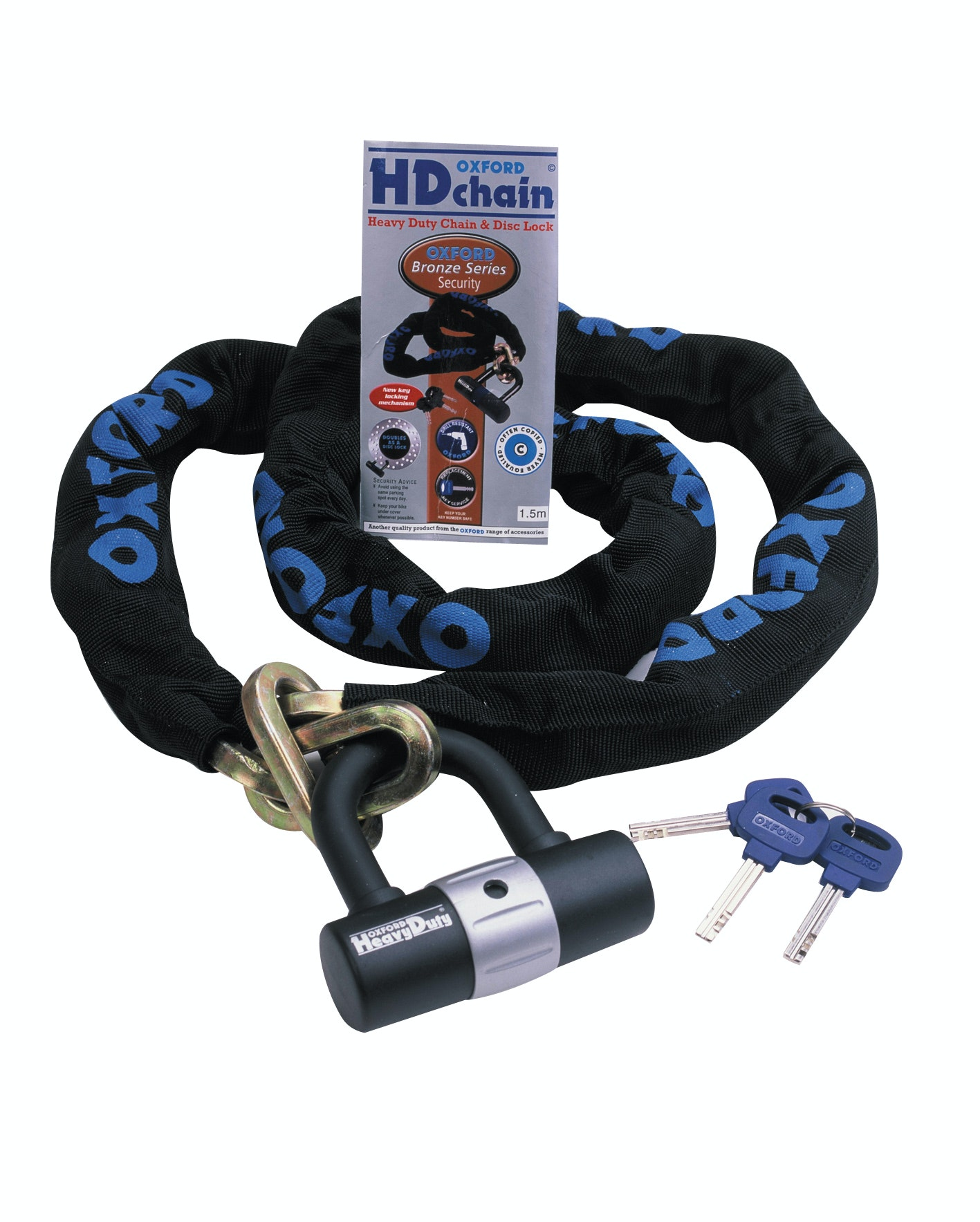 Stay Secure with this Oxford HD Chain sweepstakes