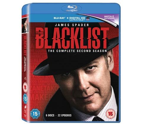 The Blacklist Season 2 on Blu-ray sweepstakes