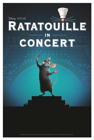 Ratatouille Live in Concert  sweepstakes