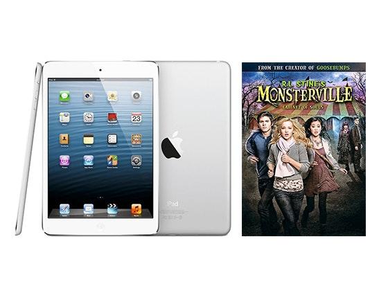 iPad mini and Goosebumps DVD sweepstakes