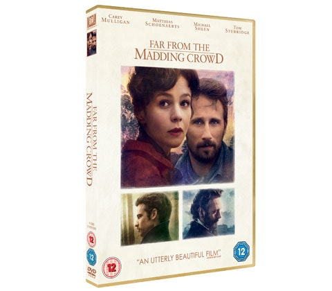 Far From The Madding Crowd DVD sweepstakes