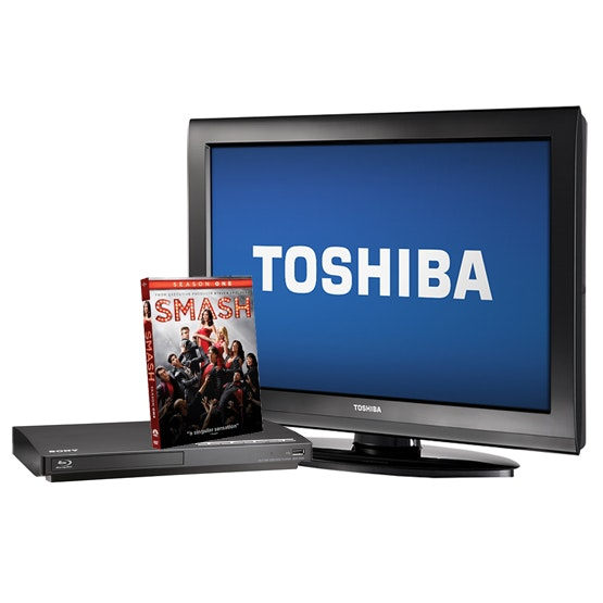32in HDTV - plus the first season of NBC's Smash! sweepstakes