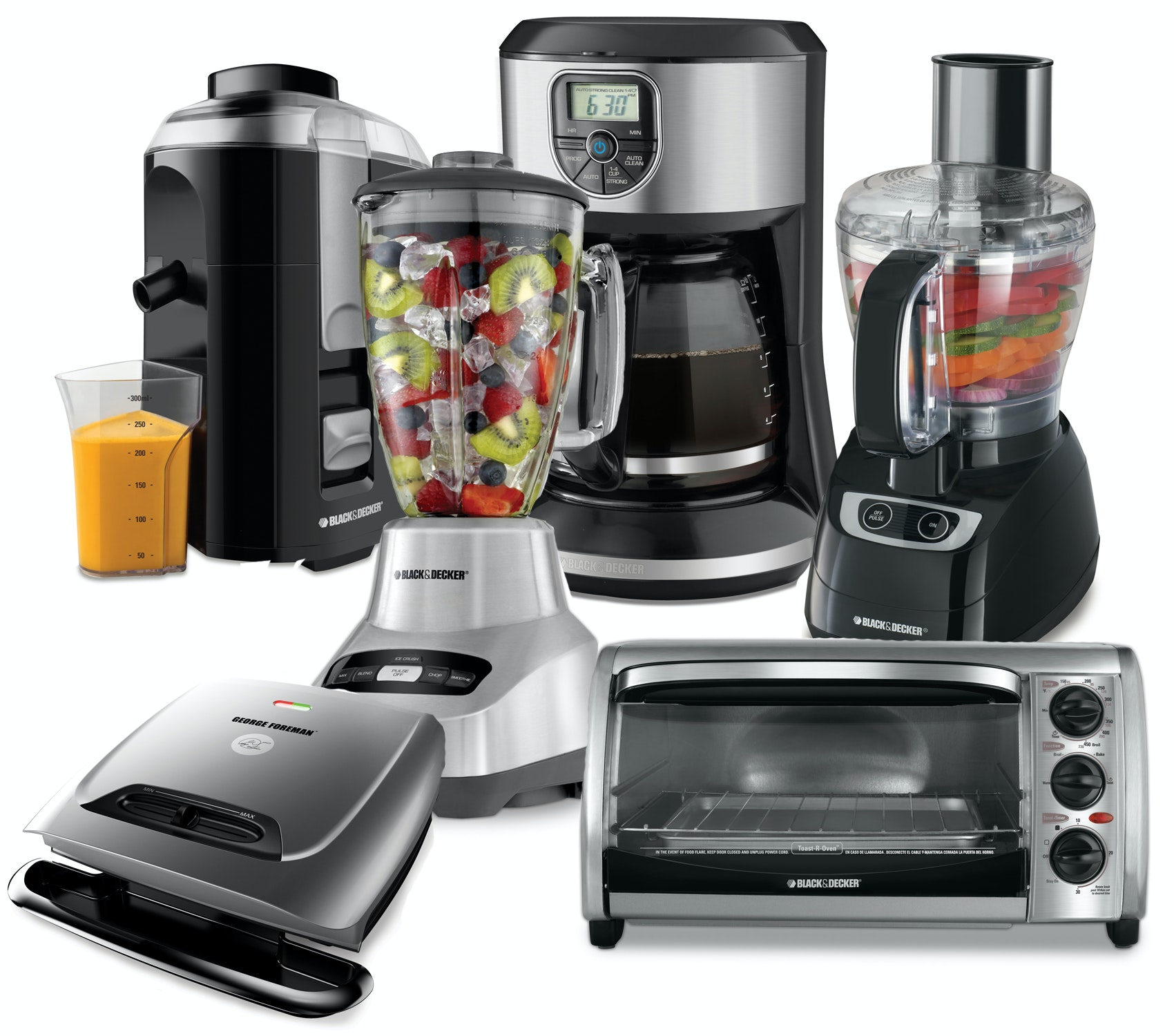 New Year Kitchen Makeover Prize Package from George Foreman and Black & Decker! sweepstakes