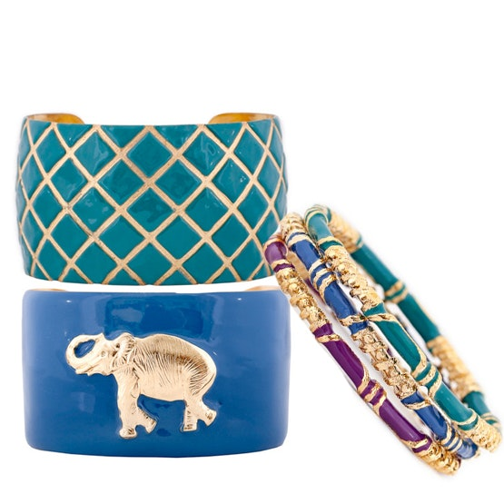 set of bangles and cuffs  from Wimberly sweepstakes