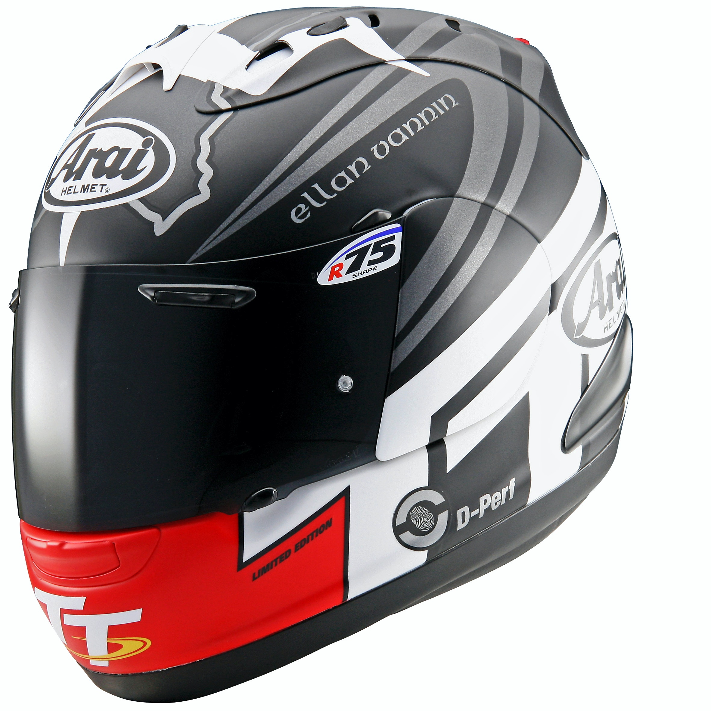 Isle of Man  TT Arai RX-7 GP sweepstakes