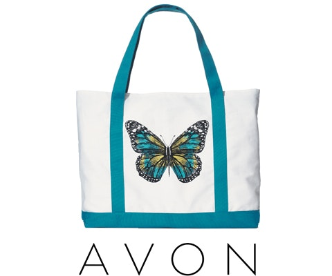 Avon butterfly bag giveaway