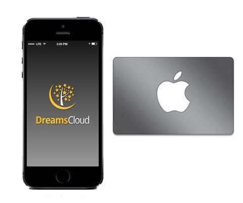 Apple Gift Card from DreamsCloud sweepstakes