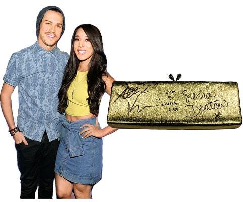 Alex & Sierra's Signed Clutch sweepstakes