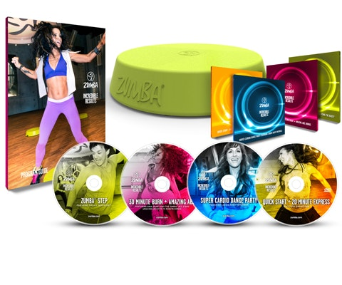 Zumba Fitness Home Workout Set sweepstakes