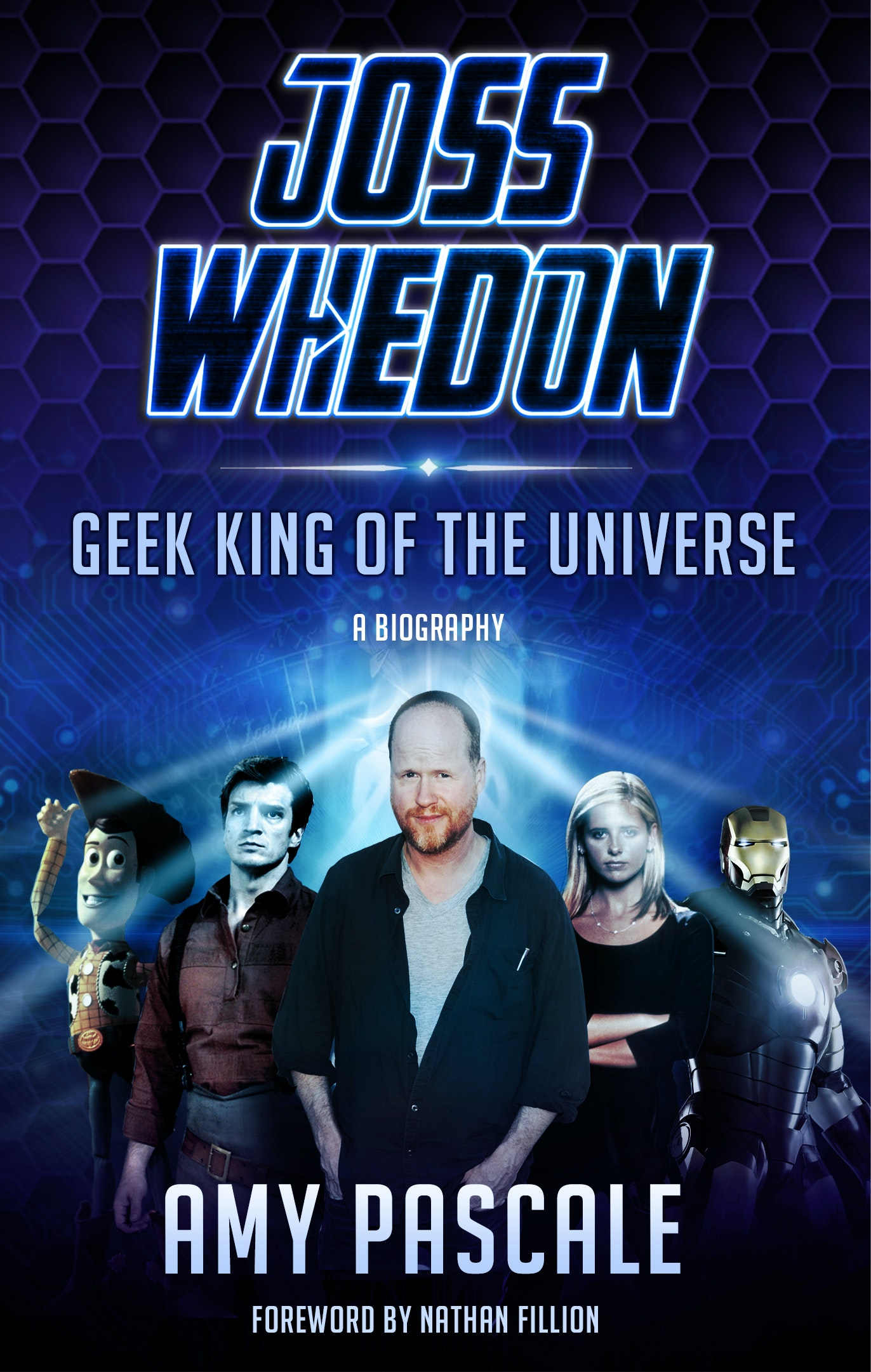 Joss Whedon: Geek King Of The Universe boook sweepstakes