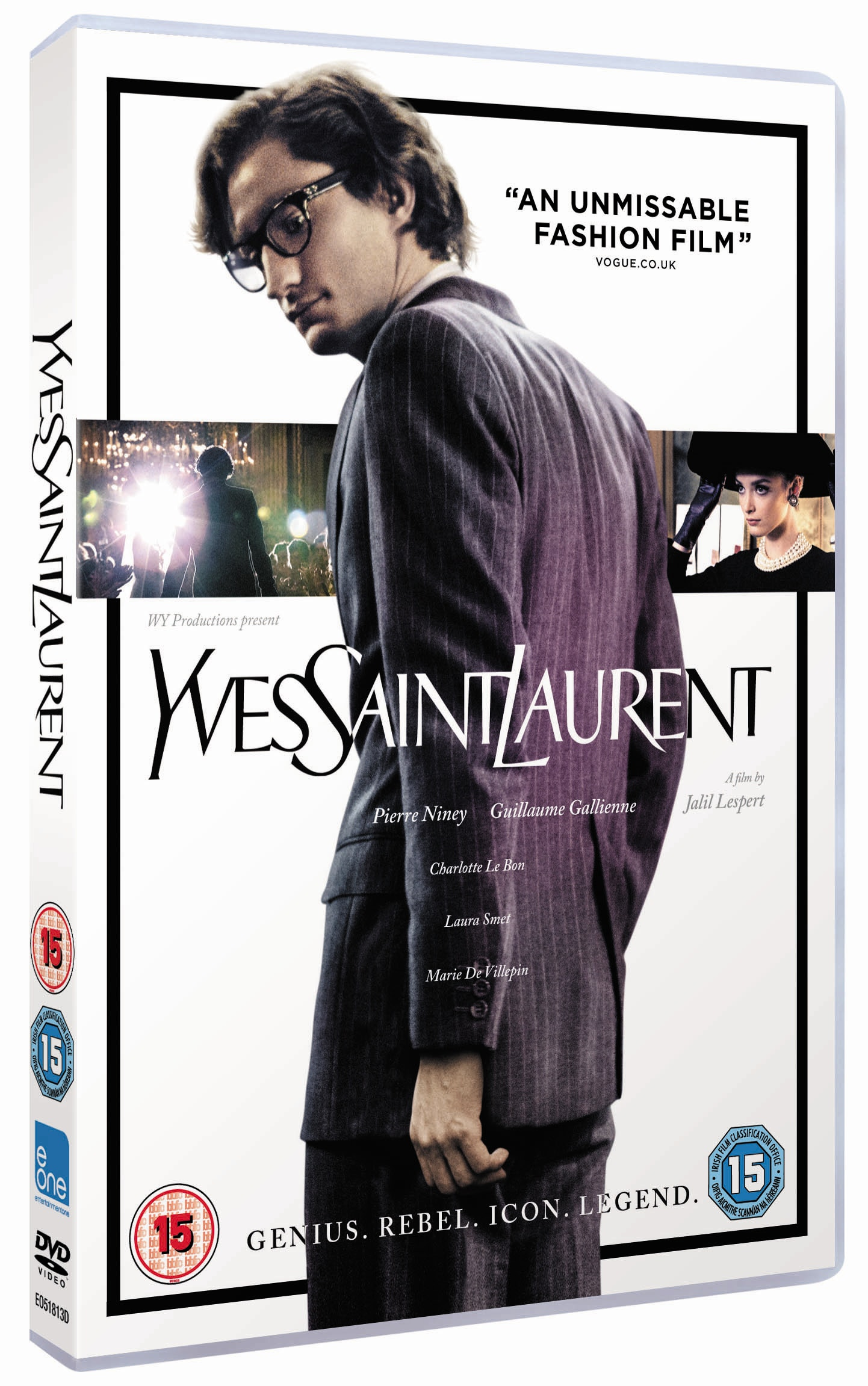 Yves Saint Laurent DVD sweepstakes