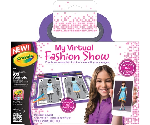 My virtual fashion show giveaway