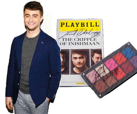 Makeup Palette and Playbill Signed by Daniel Radcliffe sweepstakes