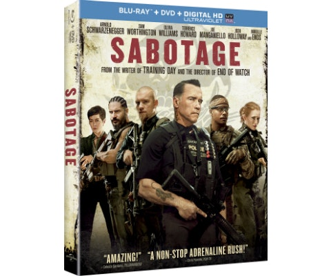 SABOTAGE on Blu-ray and DVD sweepstakes
