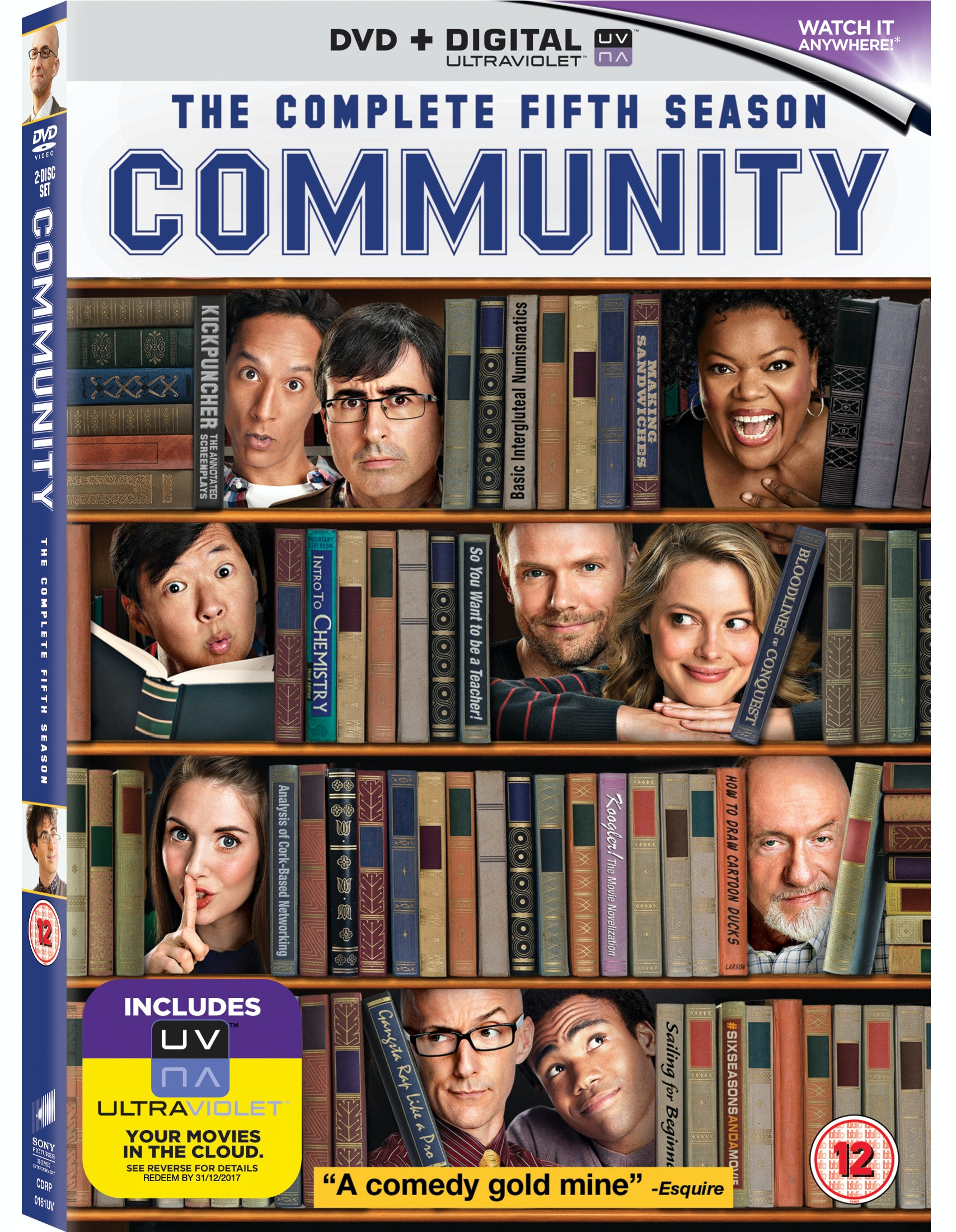 Blu-ray Player and Community: Season 5 sweepstakes