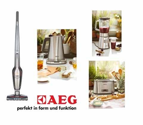 Win a set of AEG kitchen & floorcare appliances sweepstakes