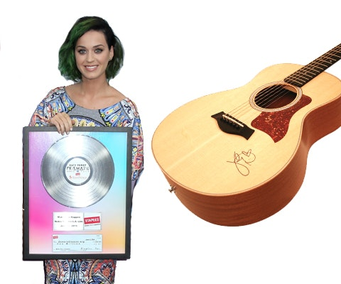Katy Perry's Signed Guitar sweepstakes