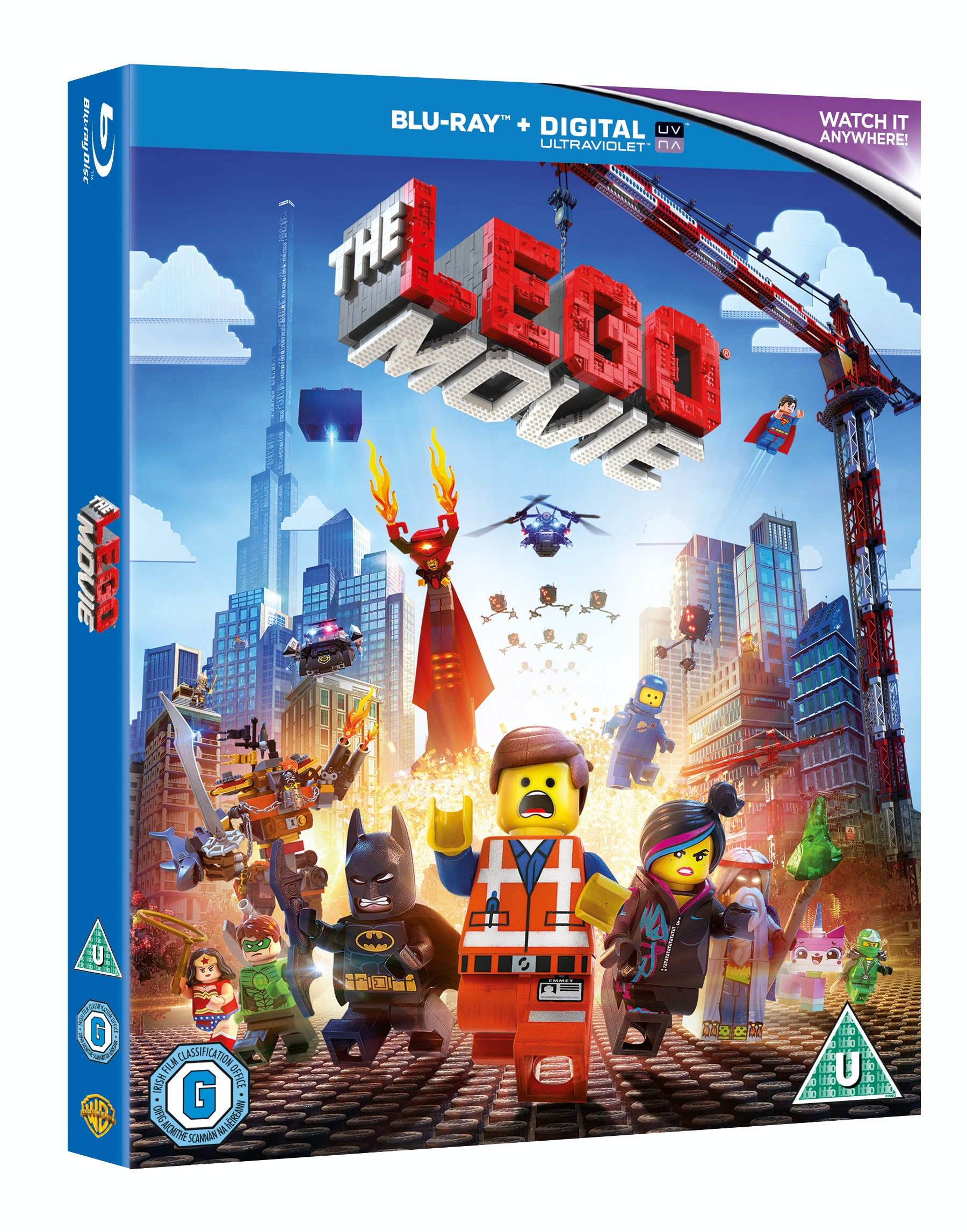 The LEGO Movie Blu-ray sweepstakes