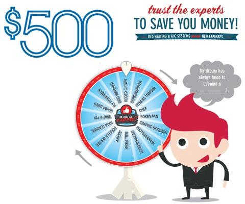 Serviceexperts 500 giveaway