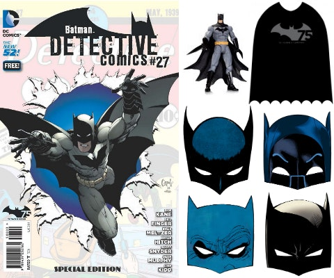 Batman Day Prize Package sweepstakes