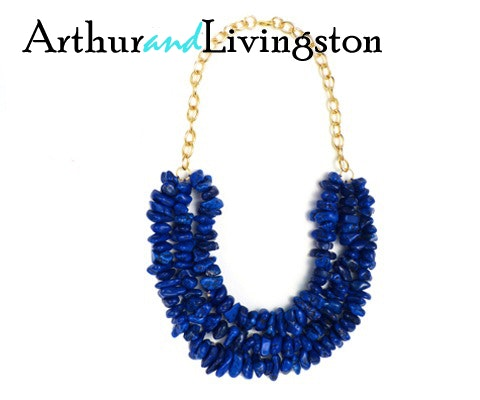 Necklace from Arthur and Livingston sweepstakes
