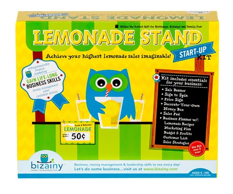 Lemonade Stand Start-Up Kit from Bizainy sweepstakes