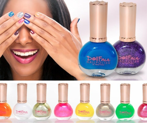 Dollface Nail Polishes sweepstakes