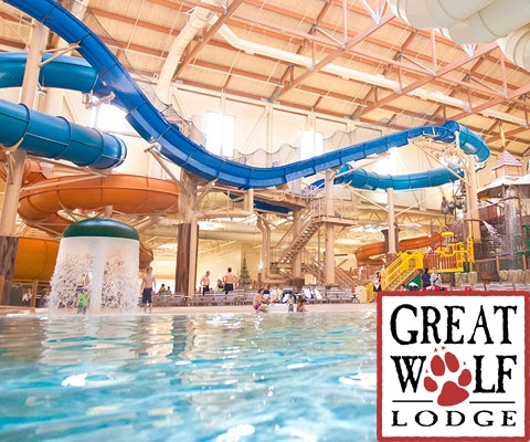 Family Vacation at Great Wolf Lodge sweepstakes