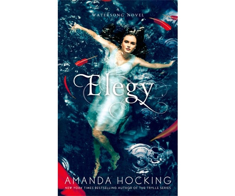 ELEGY by Amanda Hocking sweepstakes