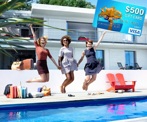 $500 from HomeAway sweepstakes