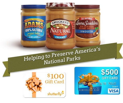Smuckers Park Adventure Prize Package sweepstakes
