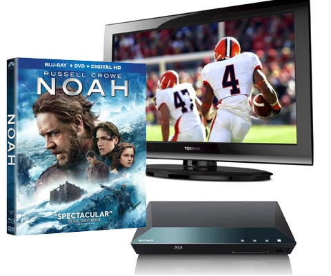 NOAH on DVD, plus a Flat Screen TV and Blu-ray Player sweepstakes