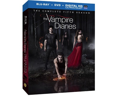The Vampire Diaries Season 5 on Blu-ray Combo sweepstakes