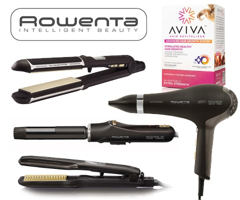 Hair Styling Prize from Rowenta and Aviva sweepstakes