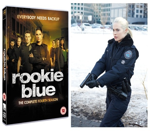 Rookie Blue DVD sweepstakes