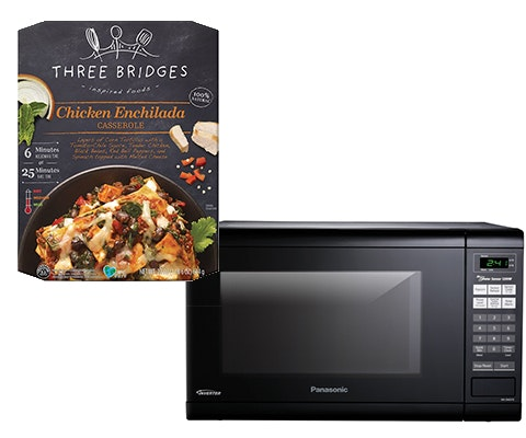 Microwave and Three Bridges Meals sweepstakes